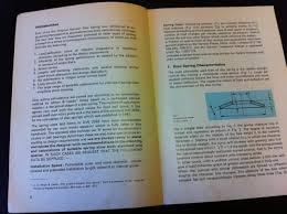 Disc Spring Design Guide Schnorr Disc Spring Handbook Amazon Co Uk Books