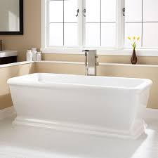 serafini acrylic freestanding tub  bathroom