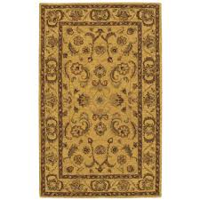 nourison india house gold 5 ft x 8 ft area rug