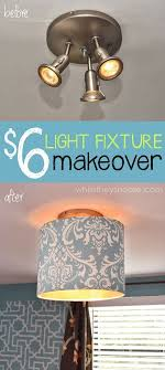 vanity light fixture makeover fixtures