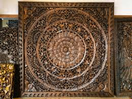 hand carved wood wall decor imposing wood carved wall decor s design antique 79 home tree