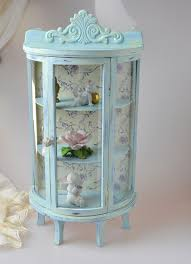 shabby chic small glass display case display curio cabinet electric fireplace curio cabinet