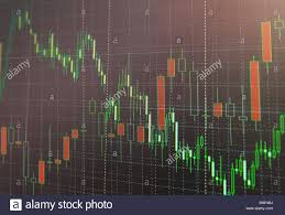 Candle Chart For Stock Stock Market Or Forex Trading Graph And Candlestick Chart