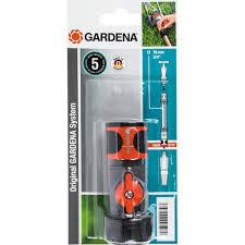 <b>Коннектор</b> для шланга быстросъёмный регулируемый Gardena <b>3</b> ...