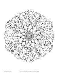 Amazon Com Flower Mandalas Coloring Book Coloring Is Fun