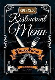 Restaurant Menu Template Restaurant Menu Psd Flyer Template