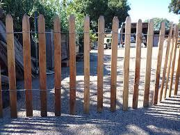 redwood snow fence