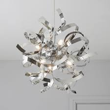 charlene cut glass smoked 3 lamp pendant ceiling light designs