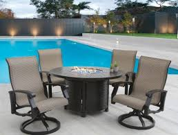 fire pit fire table sets with chairs