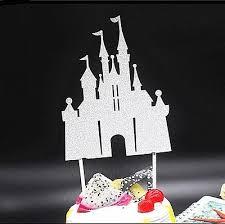 Princess Castle Disney Cake Topper Sparkle Gorgeous Birthday Wedding