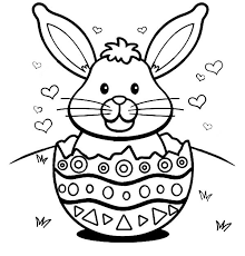 Small Picture Printable 52 Cute Easter Bunny Coloring Pages 11899 Easter