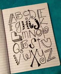 handwriting ideas for bulletin boards and posters.because we always want  make our letter look cute but never have anything to copy off of! art  journal,Craft ...