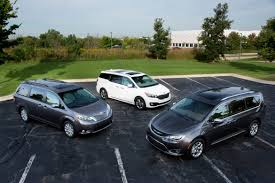 Whats The Ultimate Minivan For 2016 News Cars Com