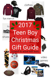2017 Teen Boy Christmas Gift Guide - Chosen by Real Teenagers + Giveaway!