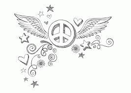 Small Picture Wings Coloring Pages Coloring Pages Of Hearts With Wings Coloring
