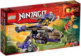 Amazon.com: LEGO Ninjago Condrai Copter Attack Toy: Toys & Games