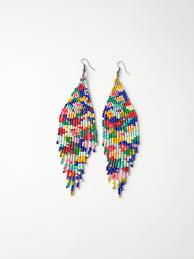 Native American Beaded Earrings Patterns Free Interesting Decorating