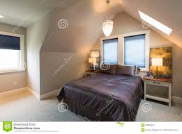 bedroom with bed bedside tables vaulted ceiling window coverings and accent lighting in ceiling accent lighting