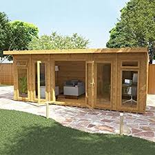 home office cabins. Nova 6m X 4m Insulated Garden Room - Home Office Log Cabins E