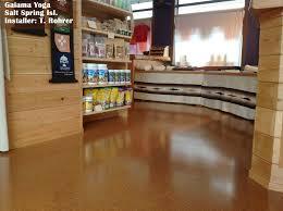 resilient flooring cork tile