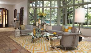 Trends Yellow Accents And Rug 1
