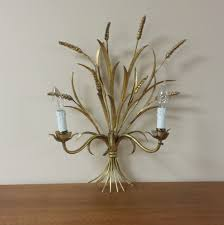 Wheat Light Battery Replacement Vintage Gold Wheat Wall Sconce Candle Light Fixture