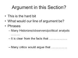 origins of the cold war essay plan ppt video online  4 argument