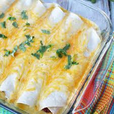 the best sour cream en enchiladas