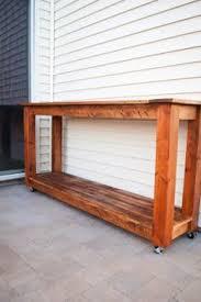 diy outdoor serving table outdoor serving table t15