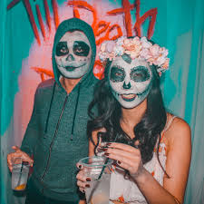 Halloween Costumes Women Coco Decorations Party Design Crafts DIY Aesthetic  Ideas Doctors Outfits Fashion Mental Hospital Psych Ward Shimmery Sugar  Skull ...