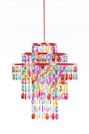 gypsy color pendant 1 light 3 tier chandelier multi color h 14 x w 13 upc 682962248951 sku gy3lmc