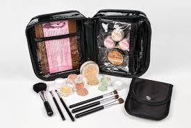 15pc mineral makeup starter kit foundation set bare skin sheer powder cover