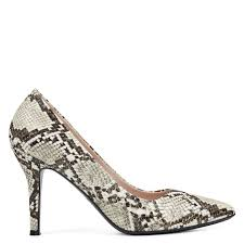 Nine West Shoe Size Chart Fifth Pointy Toe Pumps Embossed Snake Print