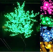 led tree lamp lamps new cherry blossom light landscape floor