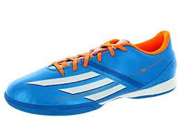 adidas f10 indoor soccer shoes solar blue mens 10 5