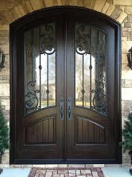 double front door double front entry doors panel design finished in rustic distressed walnut double front doors with frosted glass double front door wreaths