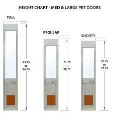 singular dog door for sliding patio door power pet electronic pet door for sliding glass patio