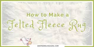 that s why i m delighted to share with you this diy sheep craft tutorial on how to felt a lamb fleece rug