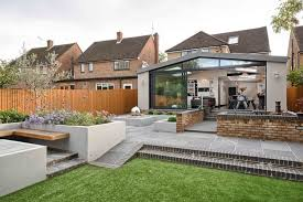 Modern house extension by Harvey Norman Architects in St Albans  click  image for full portfolio
