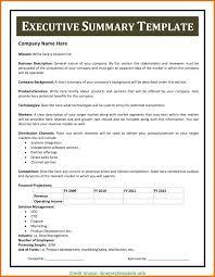 Executive Summary Template Microsoft Word Executive Summary Template Microsoft Word 1