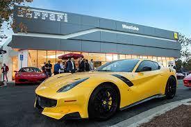 Ferrari Westlake New Showroom Opens Between Malibu And Santa Barbara Ferrari Westlake