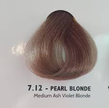 Novacolor Hair Color Chart 7 12luminart Cream Colour 100ml Medium Ashviolet Pearl