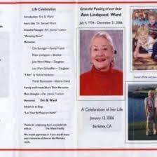 free funeral program templates sample funeral program memorial booklet samples 150917550374