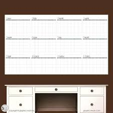 dry erase wall decal calendar zoom large dry erase wall calendar decal