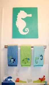 Kids Bathroom Wall Decor 17 Best Images About Kids Bathrooms On Pinterest Kids Beach