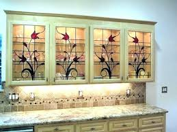 kitchen cabinet doors with glass panels magnificent for door panel inserts sink clogged