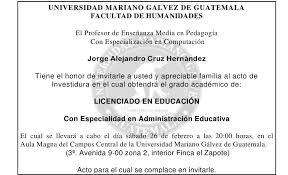 Invitaciones 2011