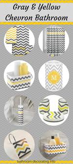 trendy gray and yellow chevron bathroom decor or choose your own color combo bathroom decor designs pictures trendy