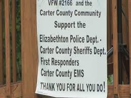 Elizabethton community hosts appreciation lunch for local first responders