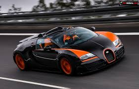 Bugatti Veyron Grand Sport Vitesse World Record Car - Wallpaper ...